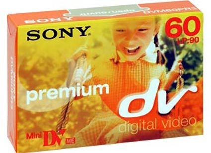 کاست فیلم پریمیوم سونی premium sony cassete digital video mini dv