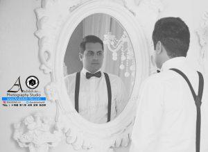 model men in wedding photos andisheh no 300x219 - عکس داماد در آتلیه عکاسی