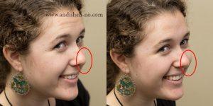 benlucas portrait posing 9 nose lenzakq 300x150 - چگونه ژست مناسب برای عکس بگیریم