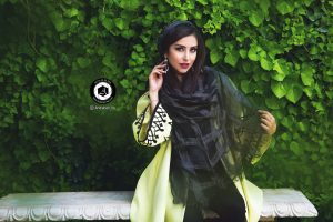 scarf photographer modeling garden Atelier fashion Hijab Clothing feminine andisheh no