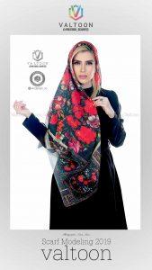 valtoon scarf fashion modeling 2019 20 169x300 - گالری آتلیه عکاسی شال و روسری