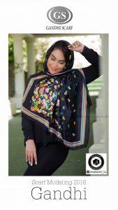 shooting and modeling shawls scarf photography gandhi 13 169x300 - گالری آتلیه عکاسی شال و روسری