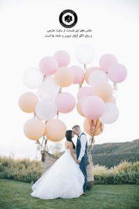 balloon in wedding photography 2 200x300 - انتخاب لباس عروس ، تاج ، مکاپ ، مزون ، دسته گل عروسی