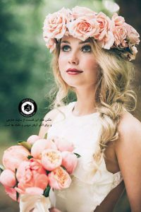 bridal bouquet bridal crown 6 200x300 - انتخاب لباس عروس ، تاج ، مکاپ ، مزون ، دسته گل عروسی