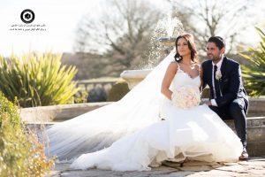 double image of bride and groom 20 300x200 - نمونه عکس و ژست عکاسی دو نفره عروس و داماد در عروسی Double image of bride and groom (20)