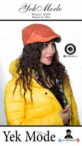 hat modeling photography studio shawl scarf andisheh no 11 169x300 - عکاسی مدلینگ فروشگاه و واردکننده انواع کلاه یک مد