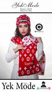 hat modeling photography studio shawl scarf andisheh no 7 169x300 - عکاسی مدلینگ فروشگاه و واردکننده انواع کلاه یک مد