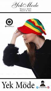 hat modeling photography studio andisheh no 14 169x300 - عکاسی مدلینگ فروشگاه و واردکننده انواع کلاه یک مد