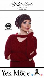 hat modeling photography studio andisheh no 6 169x300 - عکاسی مدلینگ کلاه و شال گردن و بافت زنانه و مردانه