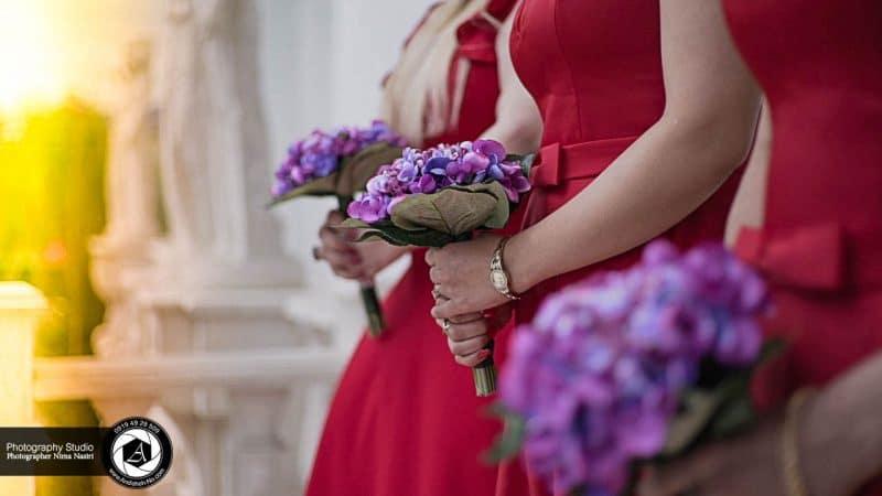 عکس دسته گل ساقدوش های عروس و لباس ساقدوش های عروس