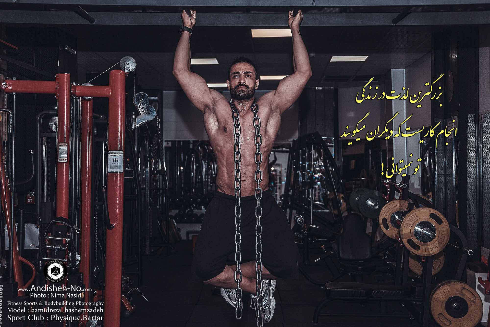 Fitness Sports Photography, Bodybuilding & Body Management Sports Club physiqye bartar modeling photographer studio andisheh no photo nima nasiri