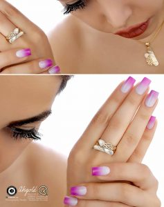 gold jewelry ring earrings bracelet photography modeling 4 1 237x300 - عکاسی طلا و جواهر