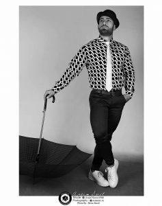 black and white modeling photography profile 2 1 237x300 - عکس سیاه و سفید مدلینگ آتلیه عکاسی