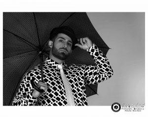 black and white modeling photography profile 3 1 300x237 - عکس سیاه و سفید مدلینگ آتلیه عکاسی