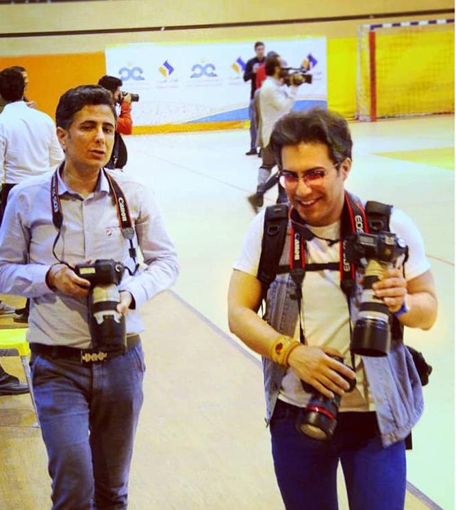 مهندس سهراب نعیمی مدیریت اتلیه عکاسی الیزه فیلم با مجوز از اتحادیه عکاسان تهران