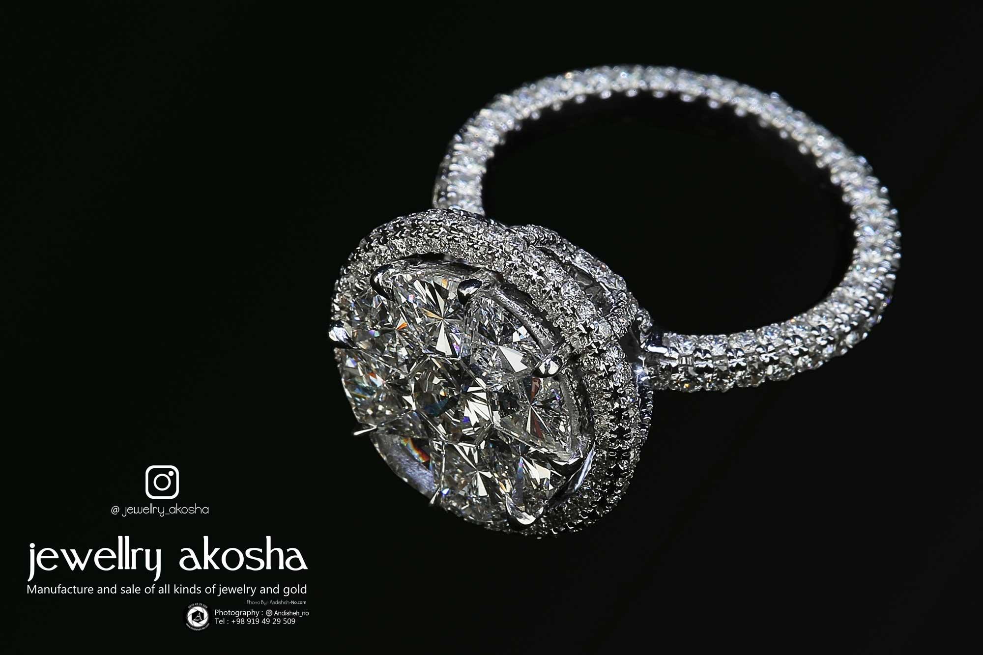 Industrial advertising photography studio for jewelry, jewelry and precious stones - ashoka - andisheh no - nima nasiri