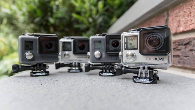 gopro hero group shot 1 - دوربین گوپرو چیست و کاربرد آن