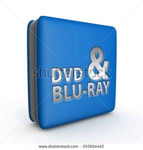 stock photo dvd and bluray square icon on white background 253524442 287x300 -